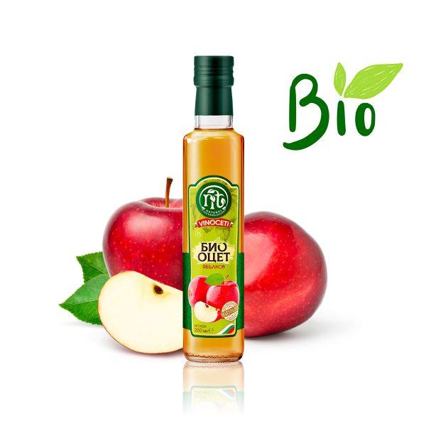 VINOCETI био ябълков оцет 250 ml