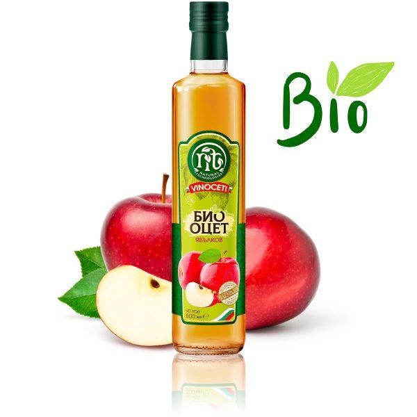VINOCETI био ябълков оцет 500 ml