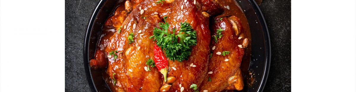 chicken chili copper Vinoceti vinegar