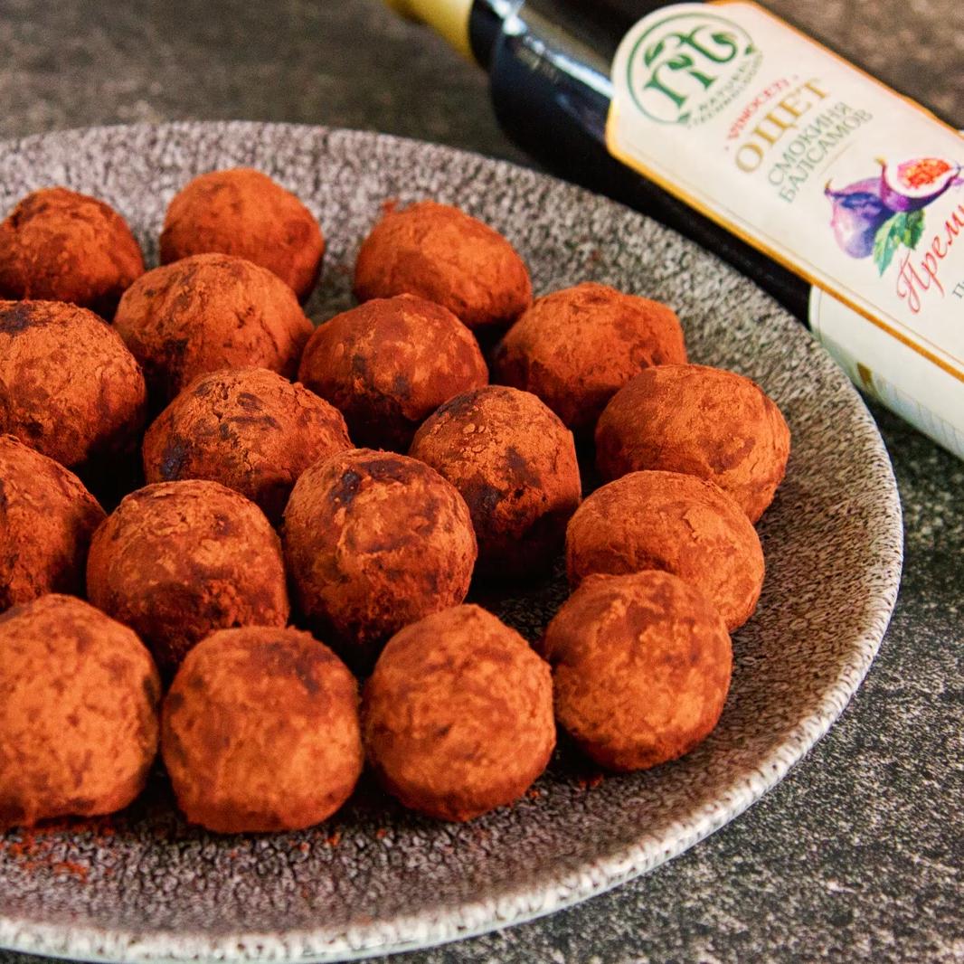 recipe Sandra Aleksieva truffles Premium figs balsams Vinoceti vinegar
