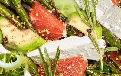 Лятна салата с Прованс и рози Vinoceti